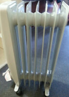 REDUCED - Oil Filled Heater
