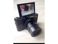 Sony Cyber-shot DSC-RX100 III Compact Digital Camera Black with case & 2 spare batteries
