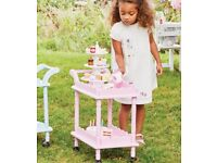 Time for tea trolley, pink