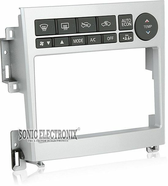 Metra 95-7605 Double DIN Installation Dash Kit for 2005-07 Infinity G35