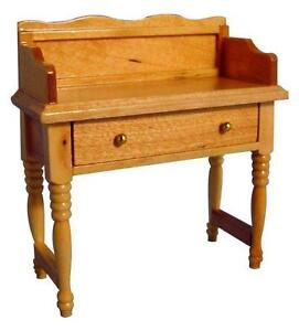 1/12 SCALE DOLLS HOUSE WASH STAND PINE