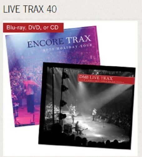 Dave Matthews Band Live Trax Vol. 40: Madison Square Garden N.Y. DVD +  BONUS CD