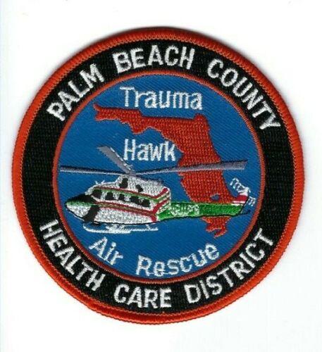 Palm Beach County FL Florida Health Care District Trauma Hawk Air Rescue patch