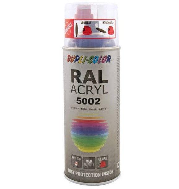 Dupli-Color RAL-Acryl Sprühdose 400 ml glänzend RAL 2002 blutorange