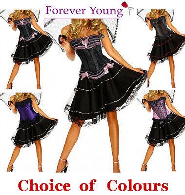 Burlesque Moulin Rouge Fancy Dress Can Can Girl - Moulin Rouge Girl Kostüm
