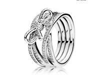 Lost Pandora silver ring