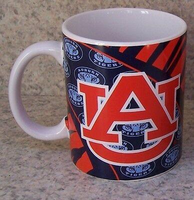 Coffee Mug NCAA Auburn university Tigers NEW 11 ounce cup with gift box