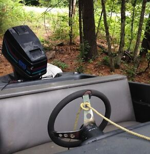13ft checkmate with 85hp Peterborough Peterborough Area image 3