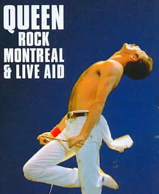QUEEN - ROCK MONTREAL & LIVE AID NEW BLU-RAY for sale  Shipping to India