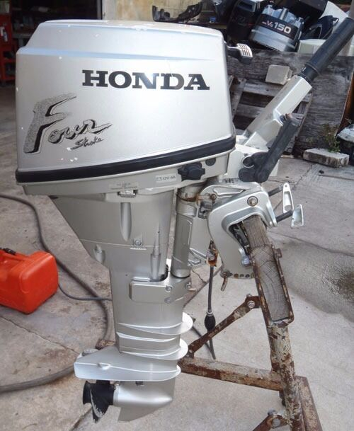 HONDA 15HP 4 STROKE OUTBOARD ENGINE - FULLY SERVICED & VERY RELIABLE
