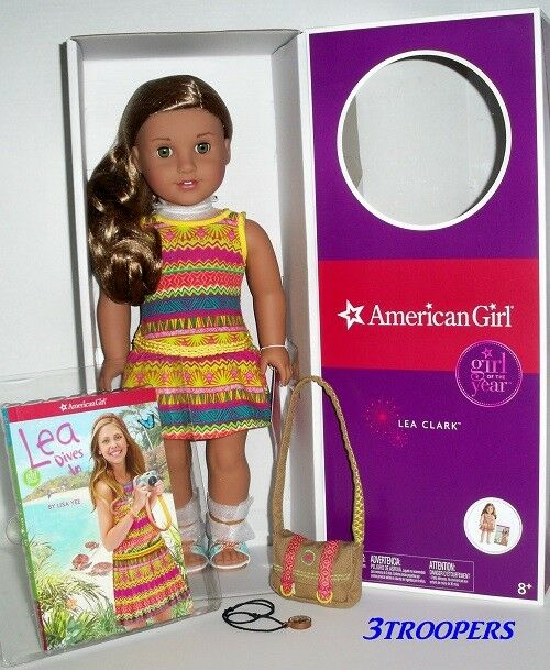 """AMERICAN GIRL LEA CLARK  - DOLL OF THE YEAR 2016  - 18"""" - NEW IN BOX"""