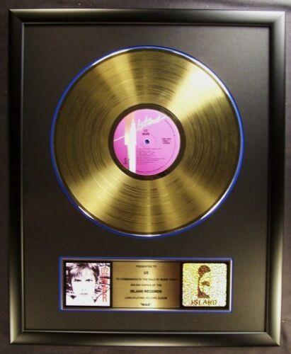 U2 War LP Gold Non RIAA Record Award Island Records To U2