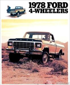 Looking for  1970-1986 Survivor Ford F series 4x4