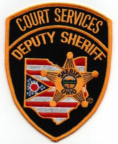 OHIO OH COUNTY SHERIFF COURT SERVICES NEW PATCH POLICE