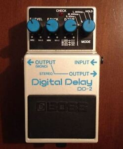 Echo Guitar Pedal Boss DD-2 Japan