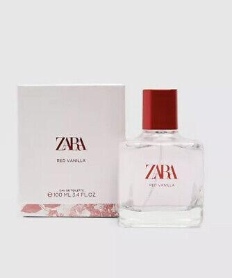 Zara Red Vanilla Perfume 100ml Eau De Toilette