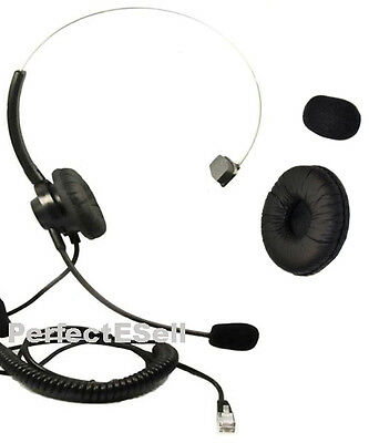 Headset Headphone For Cisco IP Phone 7940 7941 7942 7960 7961 All Series+Cushion