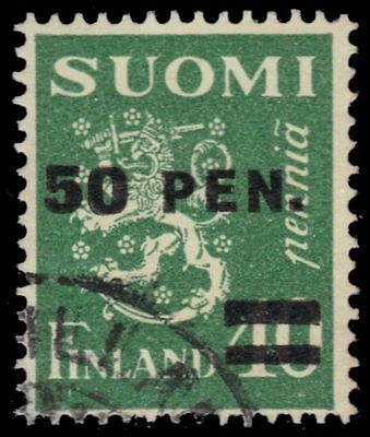 "FINLAND 195 (Mi170i) - Finnish Lion ""1931 Type I Surcharge"" (pa7300)"