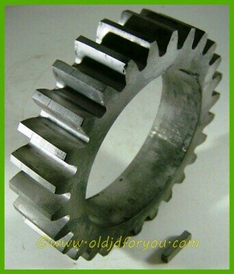 D967r D659r John Deere D Clutch Pulley Gear With Key Usa Made Media Blasted