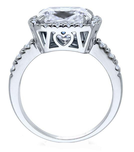 GIA Certified Diamond Engagement Ring  3.68 CT Cushion Cut Platinum VVS1 1
