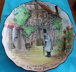 """Royal Doulton Series Ware """"GAFFERS """" Pattern"""" Serving Dish Springfield Lakes Ipswich City Preview"""