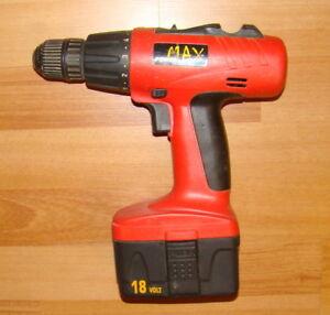 Max 18volt Drill