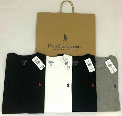 Men's Ralph Lauren Polo 100% cotton- Crew- Neck Short Sleeve T-Shirt - on offer