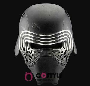 Clearance Sale! Star Wars Force Awakens 7 Kylo Ren Mask Mens Cosplay Helmet Prop