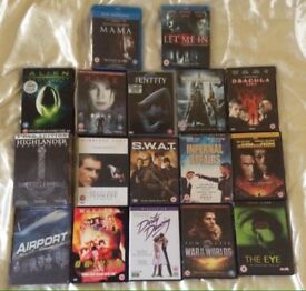 DVDs & Blu ray in 3 Box sets