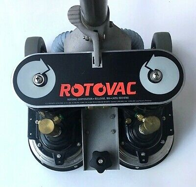 Rotovac Power Wand Carpet Floor Cleaning Extractor Dual Head A Condition