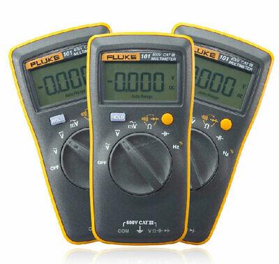 Fluke 101 Basic Digital Multimeter Pocket Portable Meter Ac Dc Volt Tester