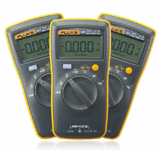 FLUKE 101 Basic Digital Multimeter Pocket Portable Meter AC