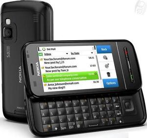 NOKIA C6-00 CELL AVEC UN CLAVIER QWERTY + TOUCHSCREEN POUR FIDO ROGERS CHATR 3G GSM CAMERA 5MP VIDEO BLUETOOTH MP3 MP4
