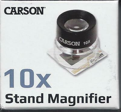Carson Lumiloupe 10x Stand Magnifier LL-10