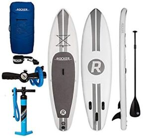 600 or best offer - iRocker Paddle Board (SUP) + ankle leash