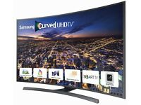 "Samsung 48"" 4K UHD Ultra HD Curved Full Smart TV With remote and orignal box New"