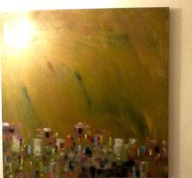 Original abstract art Carnival