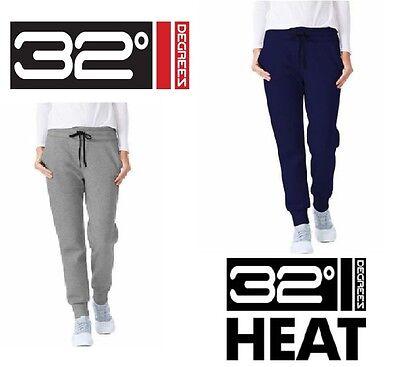 New Womens 32 Degrees Weatherproof Heat Tech Fleece Jogger Pant  Variety