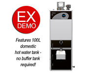 Ex Demo 22 kW Domestic Pellet Boiler with Internal 100L Domestic Hot Water Tank