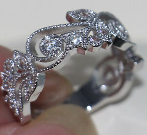 Antique jewelry Flower Design 925 Sterling Silver Ring