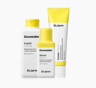 Dr.Jart + NEW Ceramidin Liquid, Cream Korean Best Cosmetic Skincare