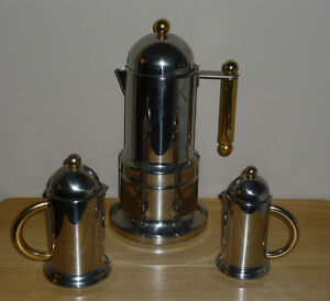 Espresso Maker : Vev Vigano Kontessa Gold : made in Italy Cambridge Kitchener Area image 1