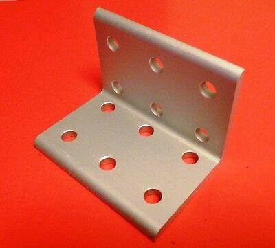 8020 Inc Equivalent Aluminum 12 Hole Inside Corner Bracket 10 Series Pn 4016