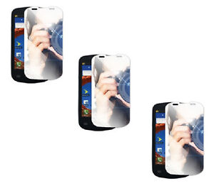 3 x Mirror Custom Screen Protector for Samsung Epic 4G Galaxy S Pro SPH-D700