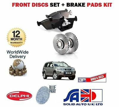 Fits Nissan X-TRIAL T31 2.0 2.0 dCi 2.5 REAR HAND DELPHI BRAKE SHOES 2007-On