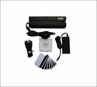 Msr 606 Hico Magnetic Stripe Card Reader Writer Encoder 3-track