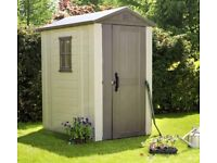 Keter Factor 6 x 4 plastic shed