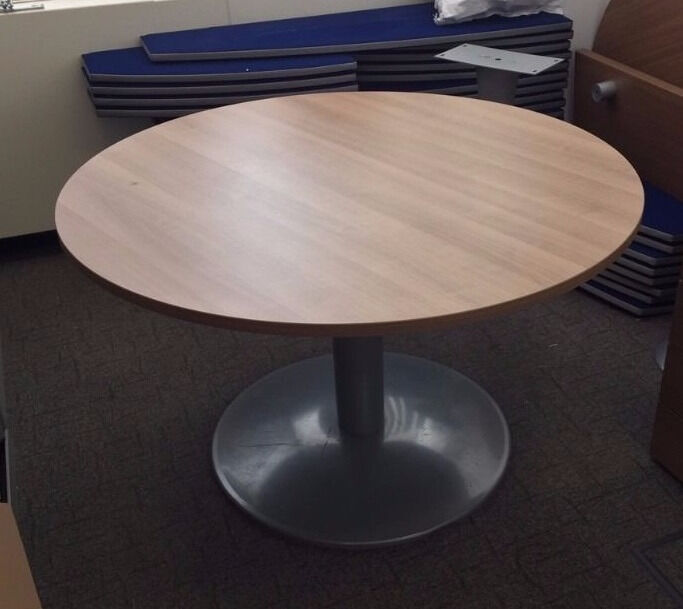 Office Round Meeting Table Dining Conference Board Room
