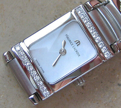 Like it ♥ღ Damenuhren Luxusuhren Armband Uhr Diamant Damen Maurice Lacroix Miros