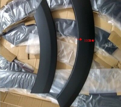For Audi Q5 10-15 fashion plastic Fender Flare Kit Wheel Arch Widening: 11CM